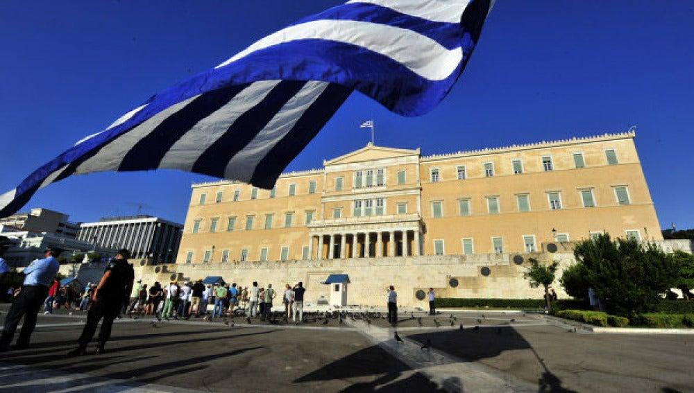 Parlamento griego en Atenas