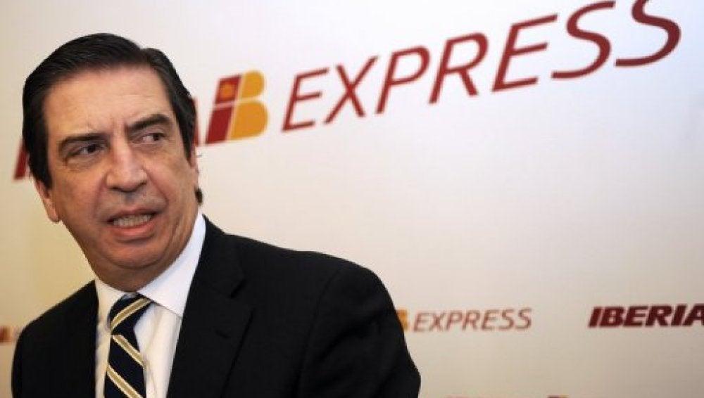 El consejero delegado de Iberia, Rafael Sánchez-Lozano