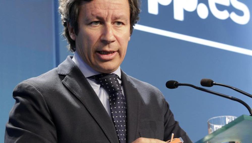 El vicesecretario de Organización del Partido Popular, Carlos Floriano