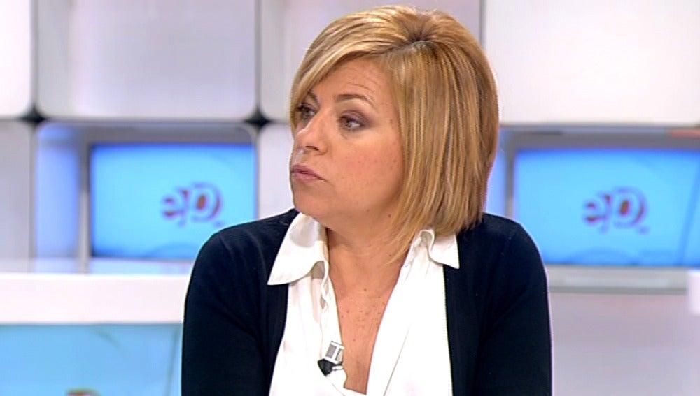 Elena Valenciano en Espejo Público