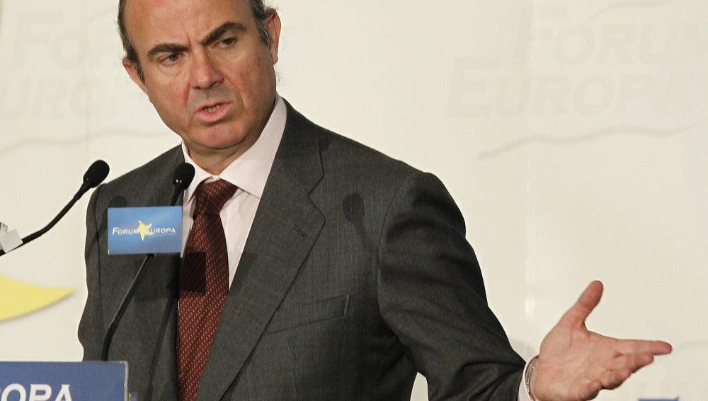 Luis de Guindos en el Foro Nueva Economía