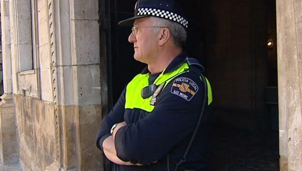 Policía mallorquín