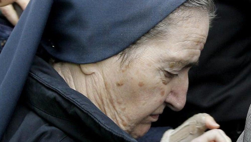 Sor María, la monja imputada por casos de bebés robados
