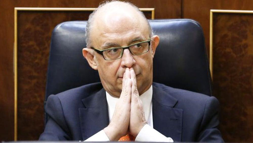 Cristobal Montoro, ministro de Hacienda y Administraciones Públicas
