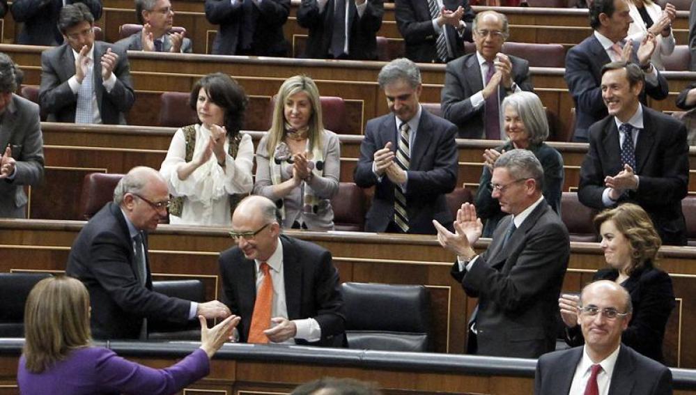 El Congreso aprueba la Ley de Estabilidad Presupuestaria