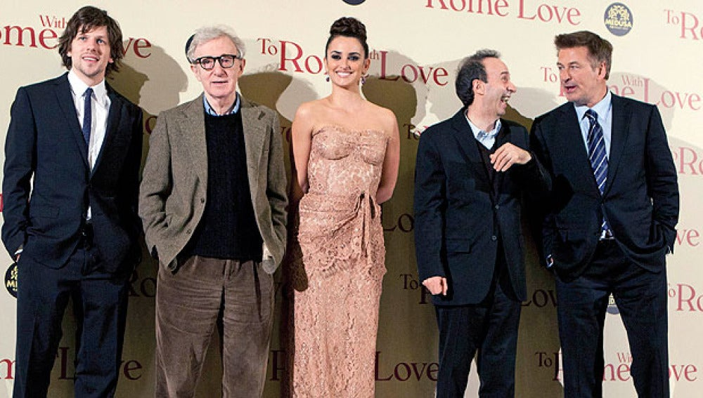 Premiere de 'To Rome With Love' en Roma