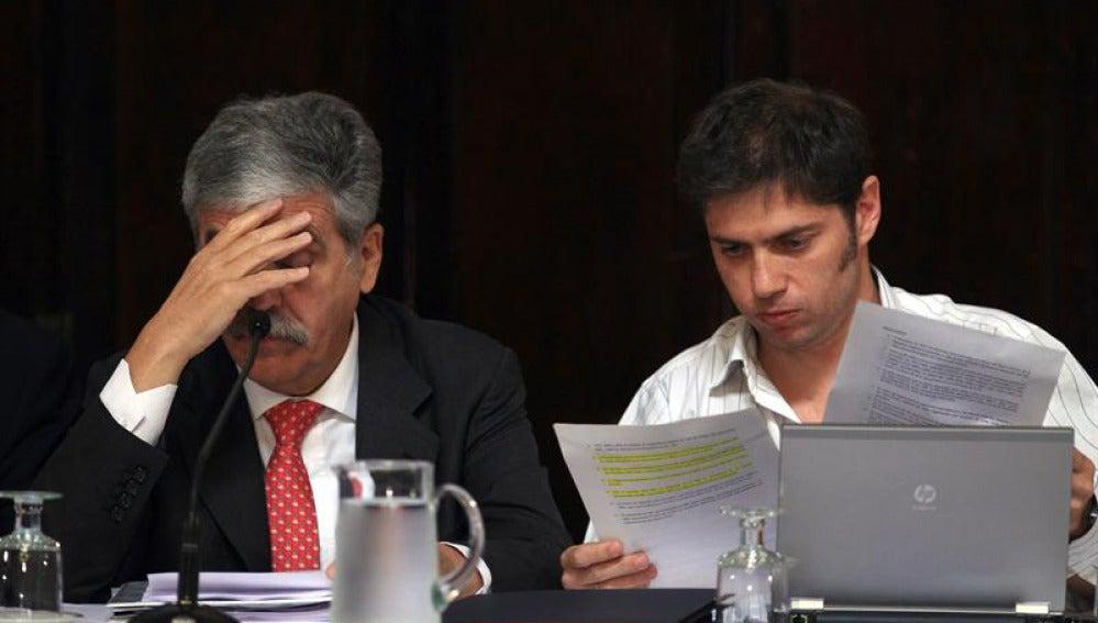 Axel Kicilloff y Julio de Vido detallan la expropiación de YPF