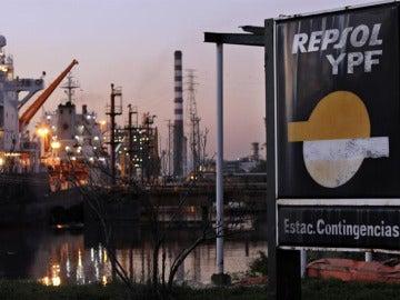 Planta petrolera de Repsol YPF