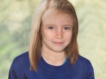 Reconstrucción que muestra a Madeleine a sus 9 años