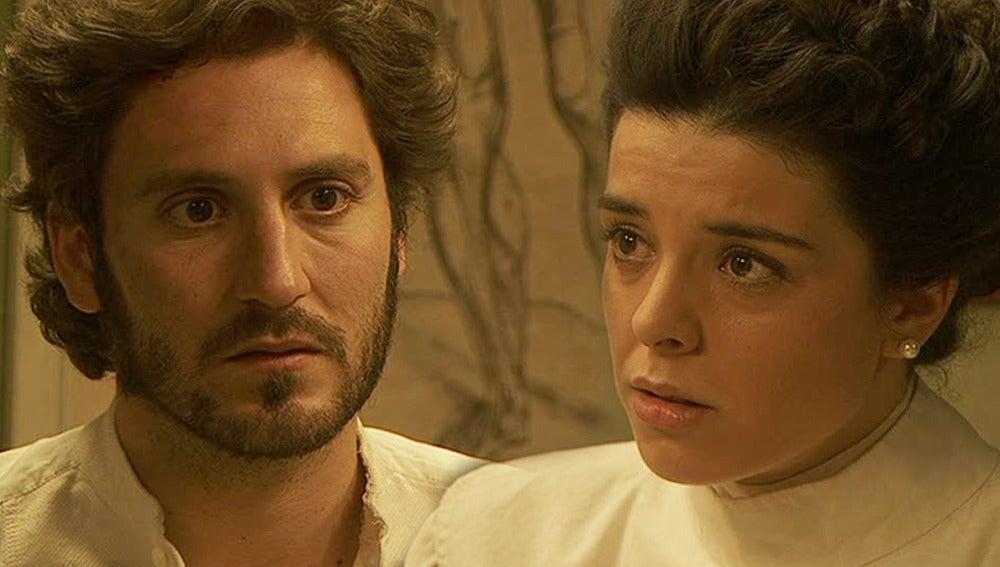 """Gregoria a Tristán: """"Me voy de Puente Viejo"""""""