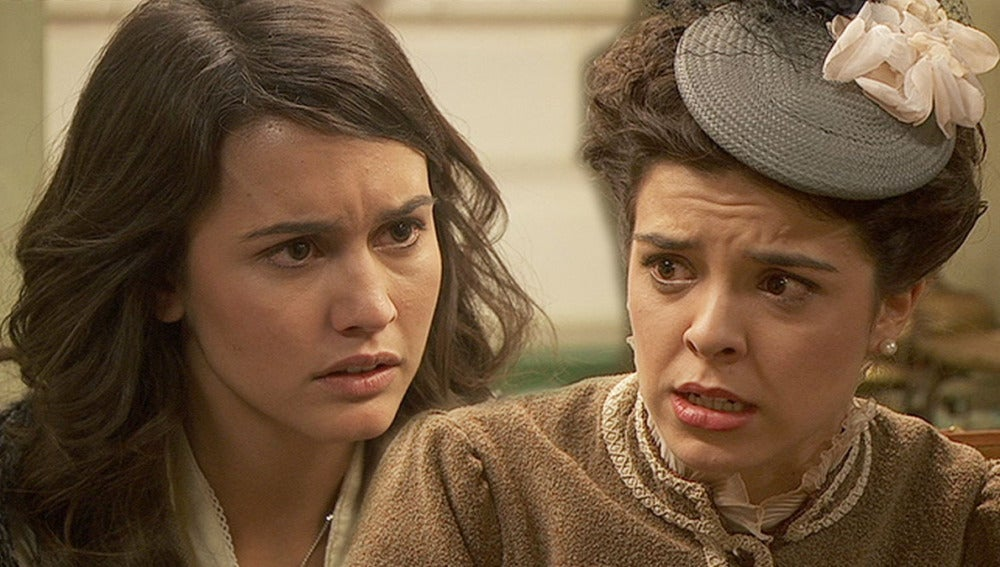 Pepa y Gregoria, a punto de confesarse