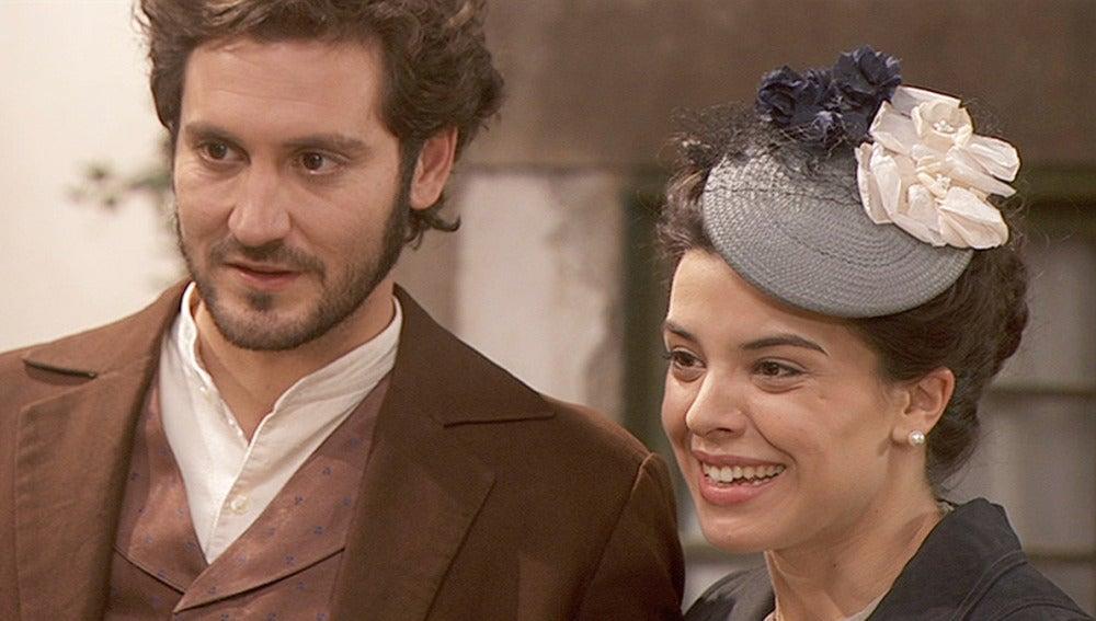 Tristán y Gregoria se casarán en dos semanas