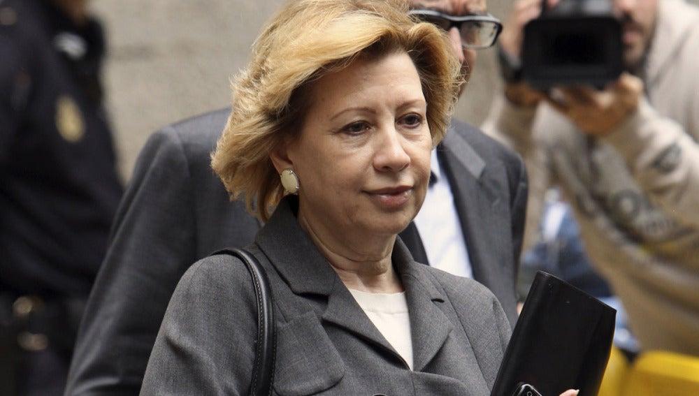 La expresidenta del Consell de Mallorca y de Unió Mallorquina, Maria Antonia Munar
