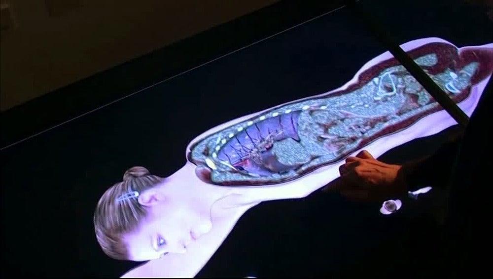Tecnología táctil en el quirófano