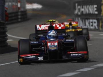 Joylon Palmer en las GP2 Series de Mónaco