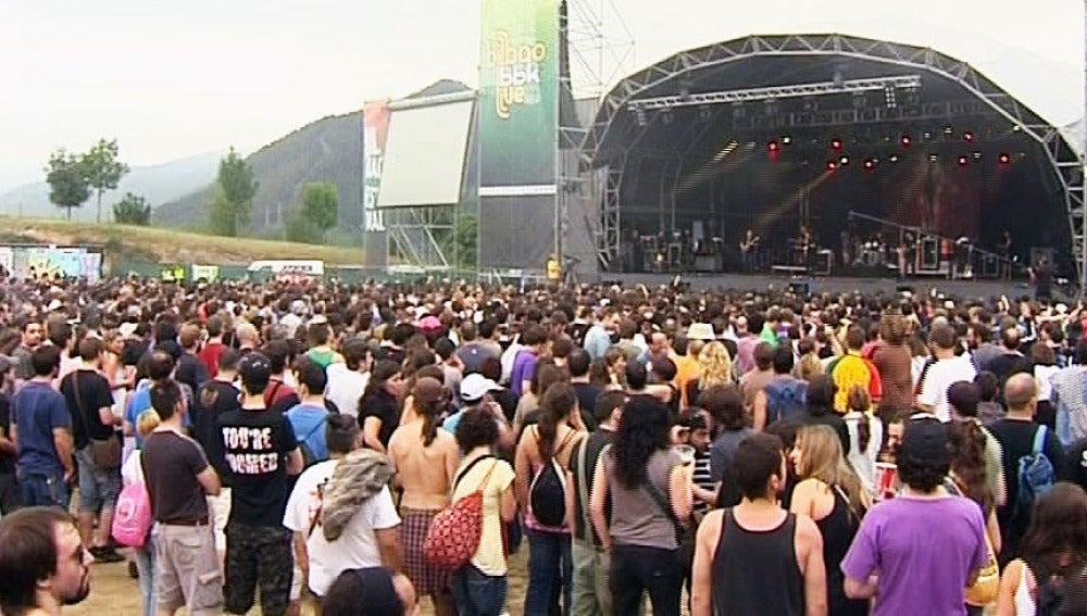 El festival BBK Live