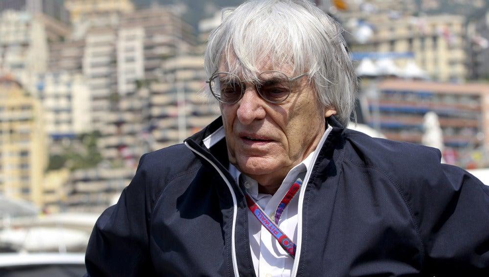 Bernie Ecclestone, patrón de la Fórmula 1