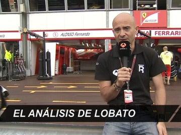 Antonio Lobato en el GP de Mónaco