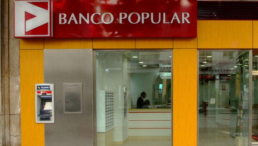 Una sede de Banco Popular