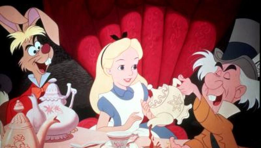 La galleta de 'Alicia en el País de las maravillas'