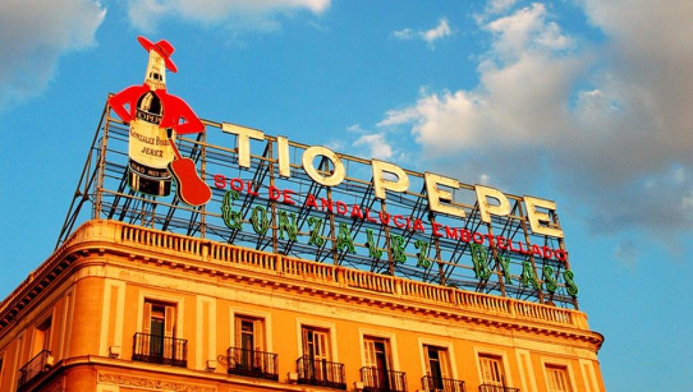 Cartel de Tío Pepe