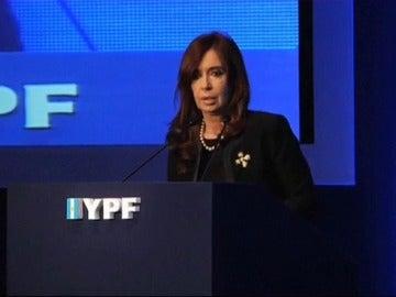 """Cristina Fernández de Kirchner: """"El petróleo es cosa de hombres"""""""