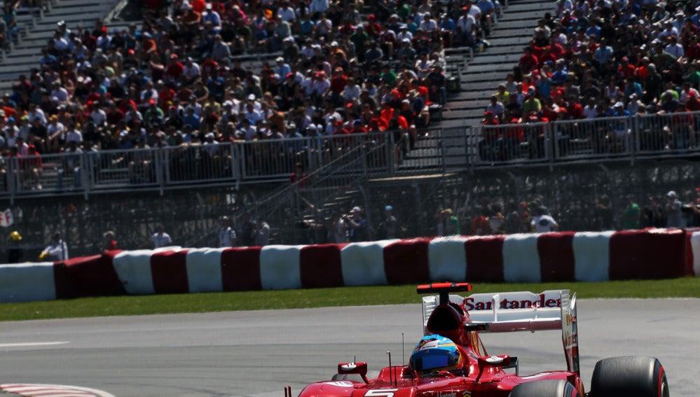 Fernando Alonso saldrá tercero en Canadá