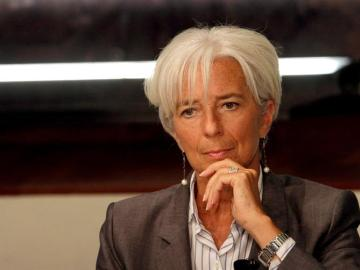 La directora ejecutiva del Fondo Monetario Internacional, Christine Lagarde