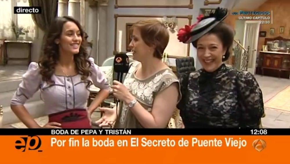 Antena 3 tv megan montaner y mar a bouzas a partir de for Espejo publico hoy completo