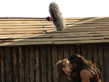 Roberto y Manuela en acción