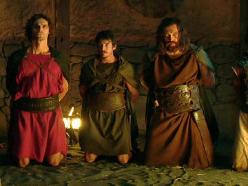 Alejo invade Caura y captura a Darío, Sandro y Paulo