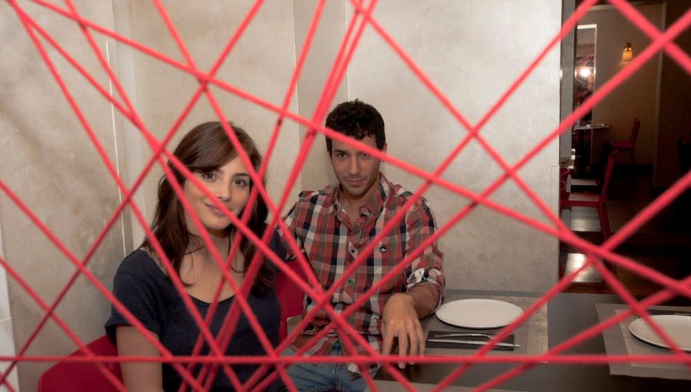 Andrea Duro y Jonás Berami