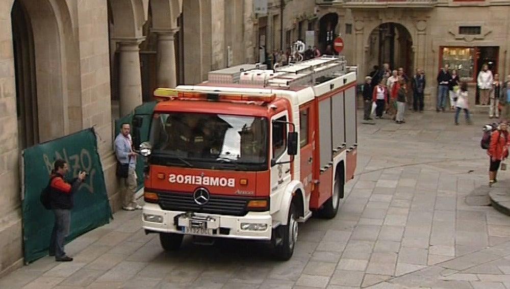 Simulacro de bomberos