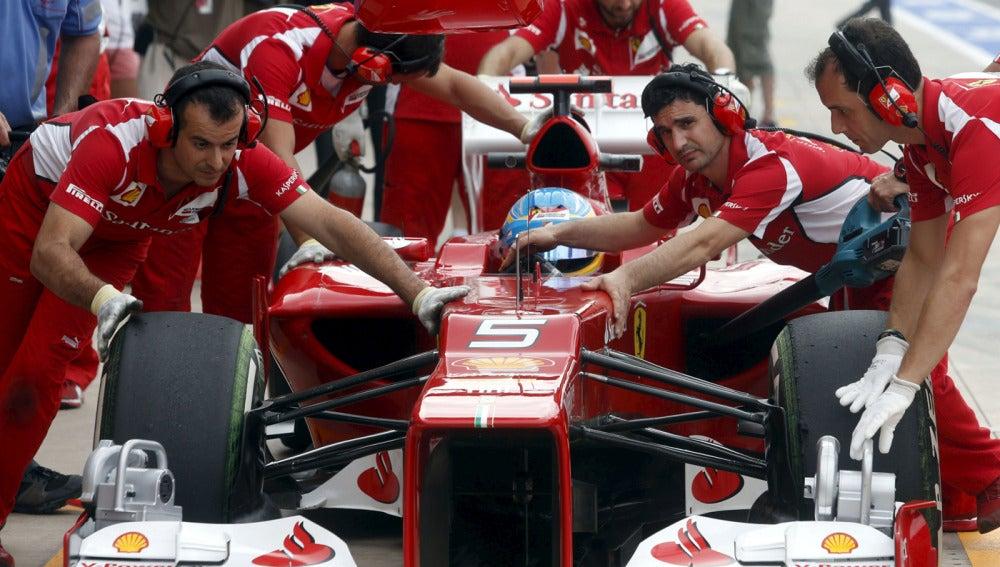 Operarios de Ferrari