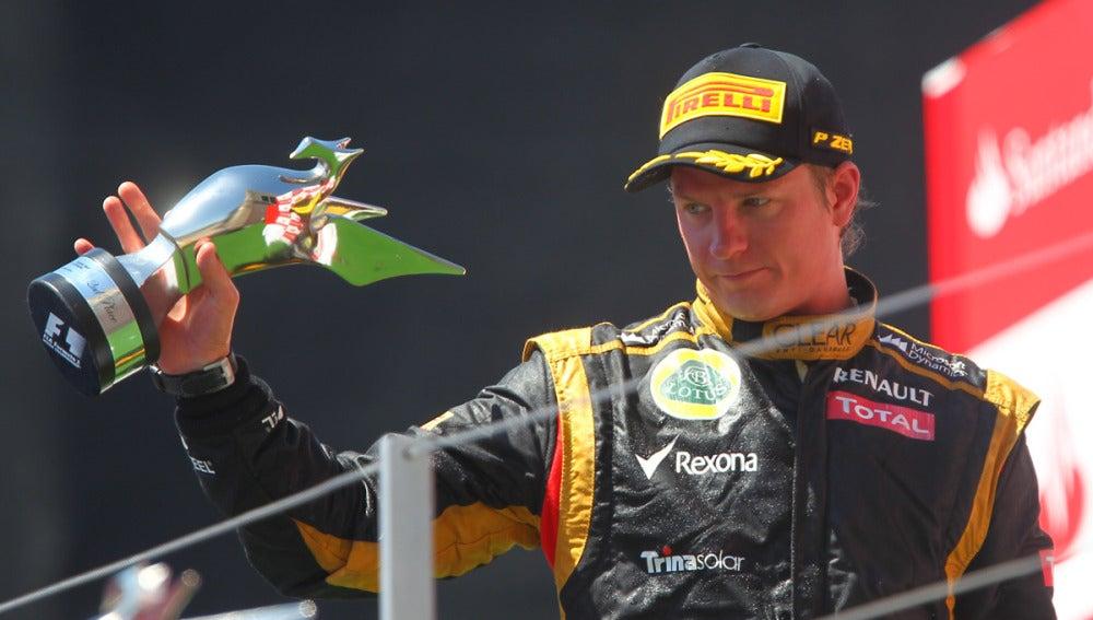 Raikkonen, segundo en Valencia