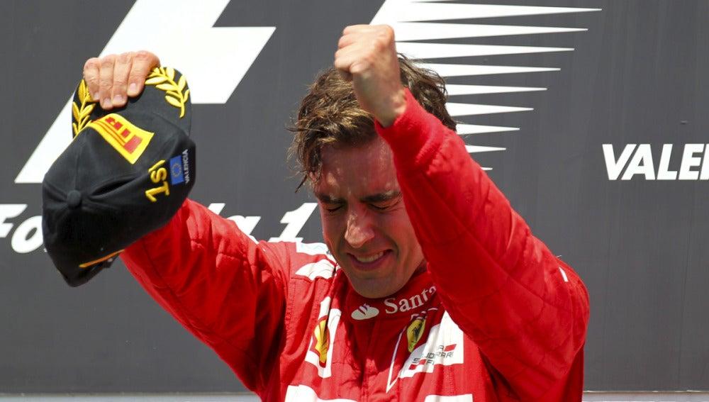 Fernando no pudo contener la emoción