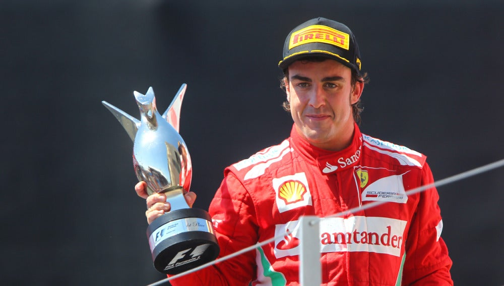 Alonso, ganador del GP de Europa