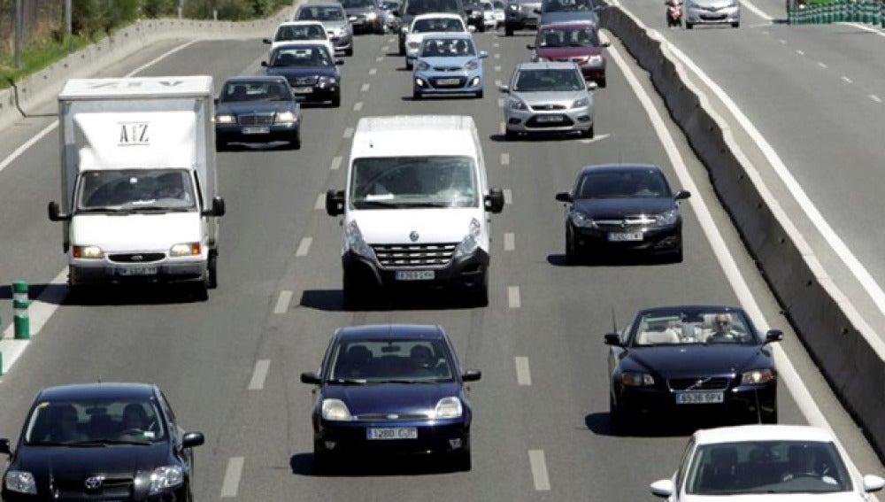 Algunas retenciones en las carreteras españolas
