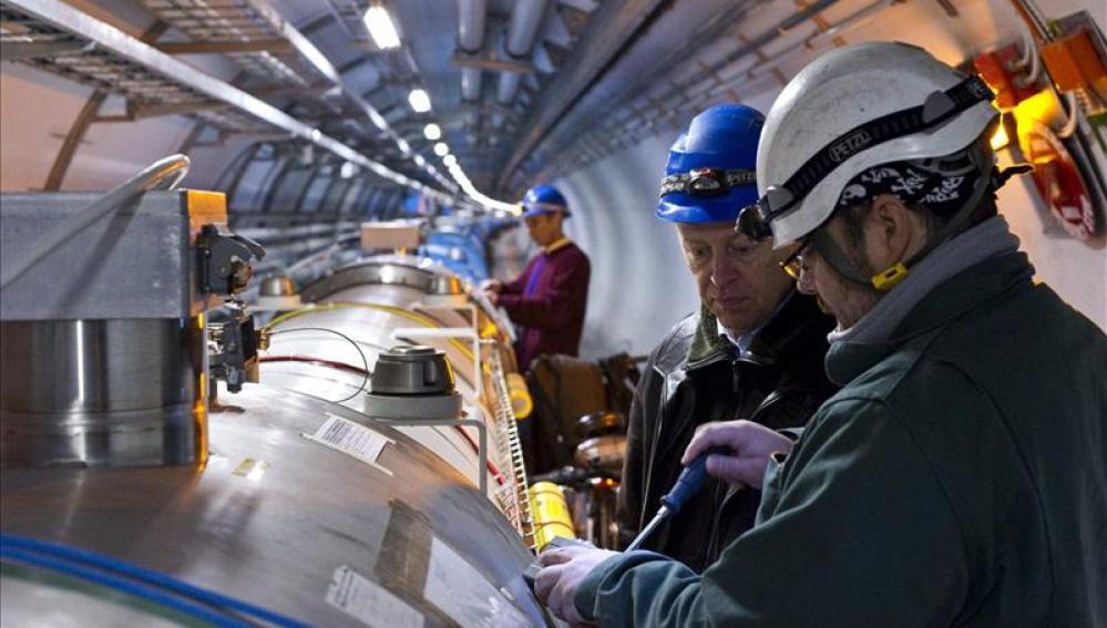 Trabjadores del CERN