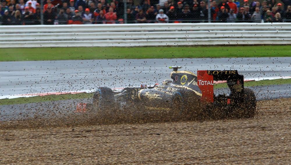 Romain Grosjean, fuera de pista