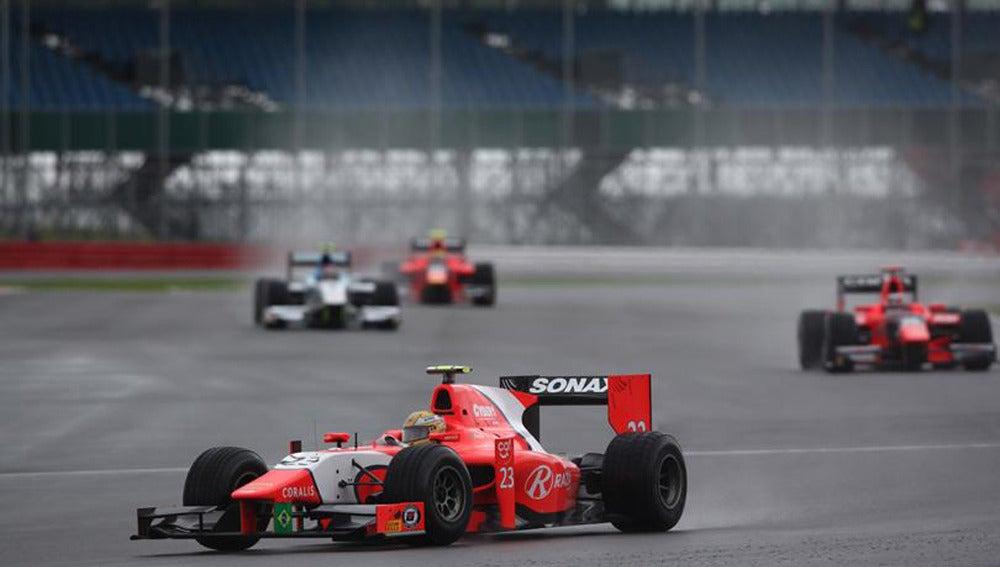 Luiz Razia en el GP de Gran Bretaña