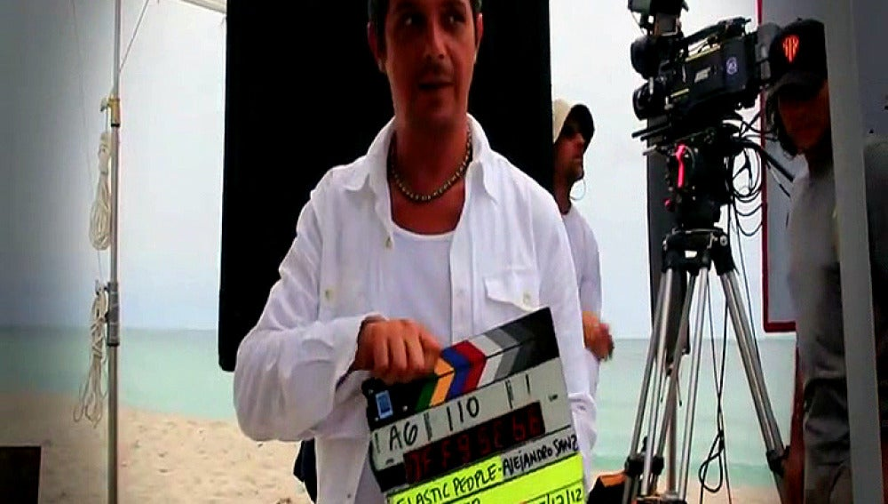 Alejandro Sanz making of