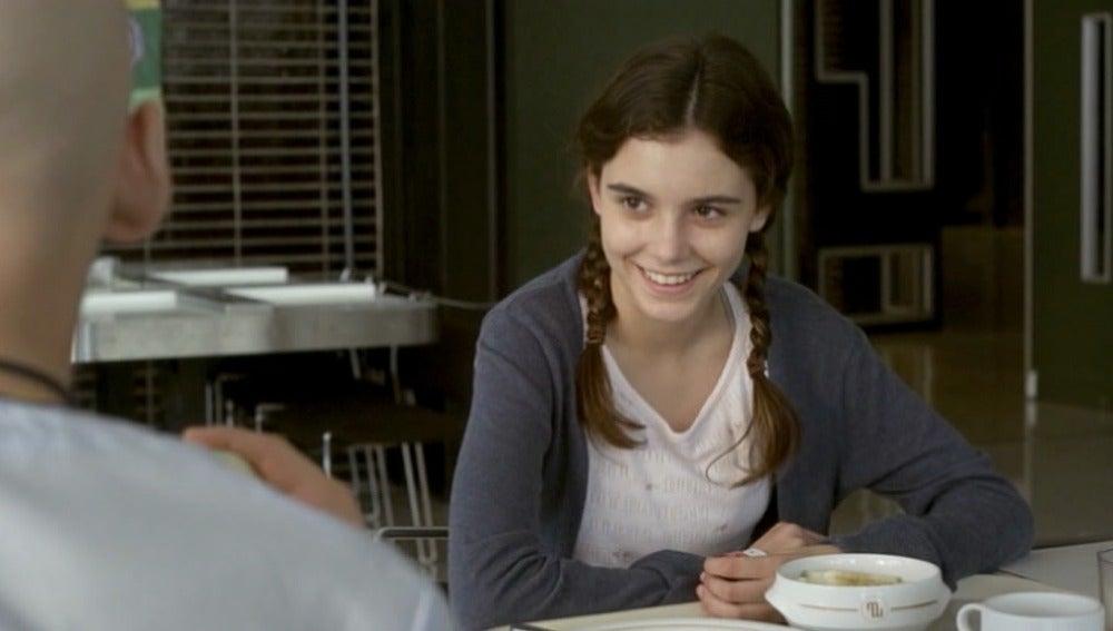 Cristina sonríe