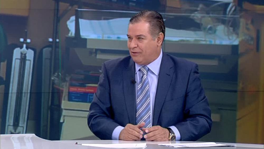 El doctor Bartolomé Beltrán, en las Noticias de La Mañana