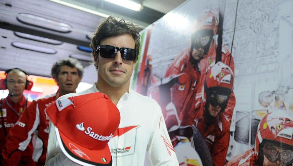 Alonso tras los entrenamientos
