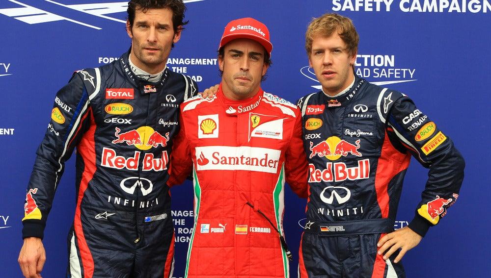 Alonso, el hombre de la pole en Alemania