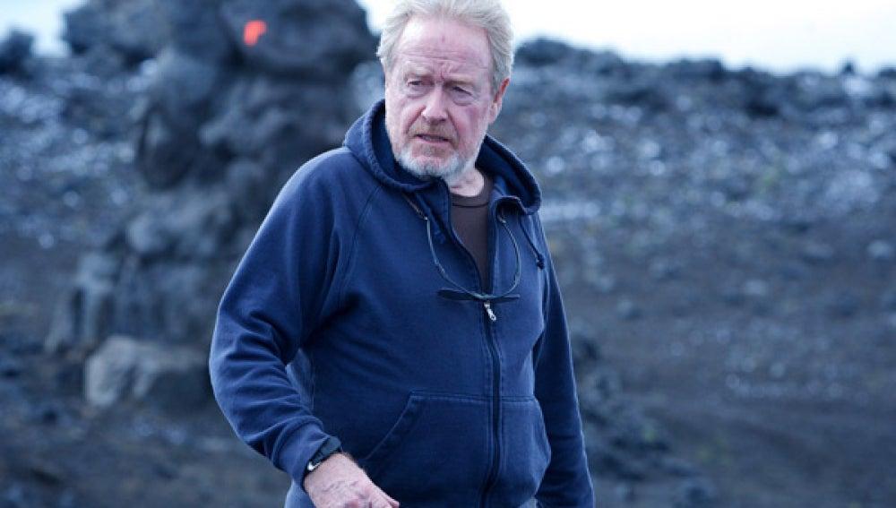 Ridley Scott llevaba varios años sin dirigir películas de ciencia ficción