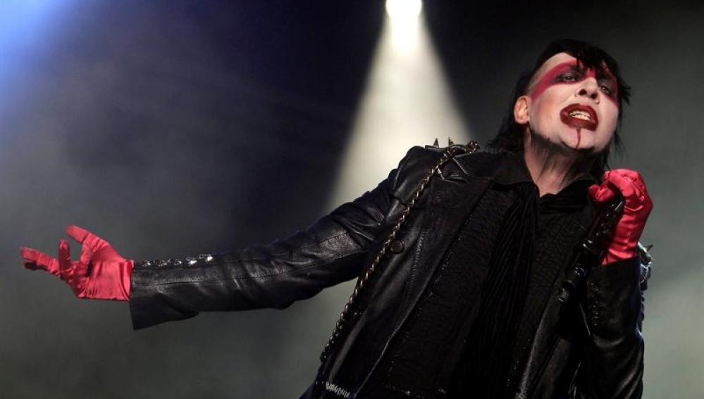 Marilyn Manson en el Costa de Fuego
