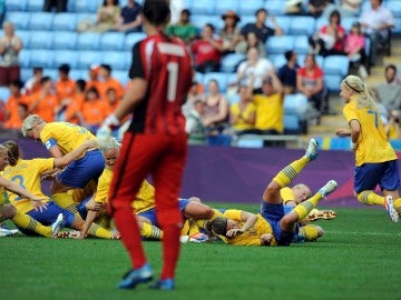 Jugadoras de fútbol femenino