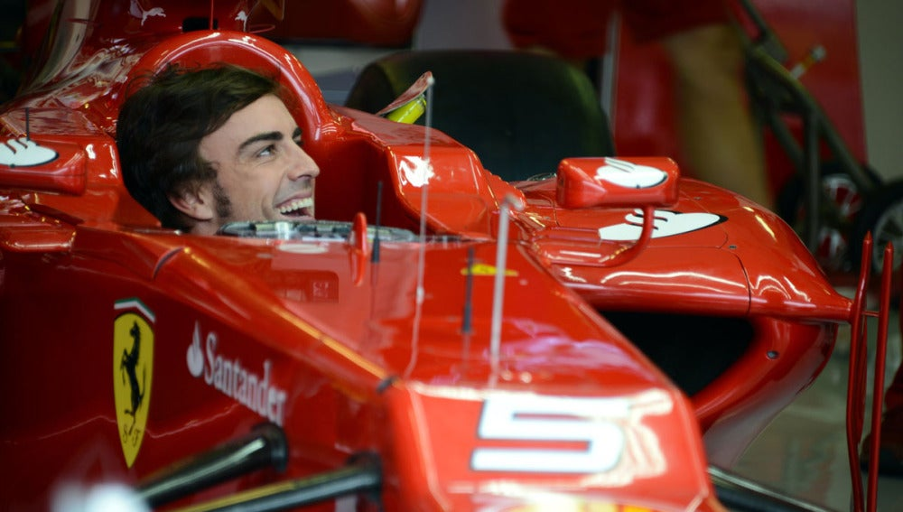 Alonso en Hungaroring